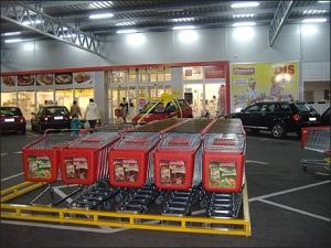Euro Fixture Shopping Cart Park 1