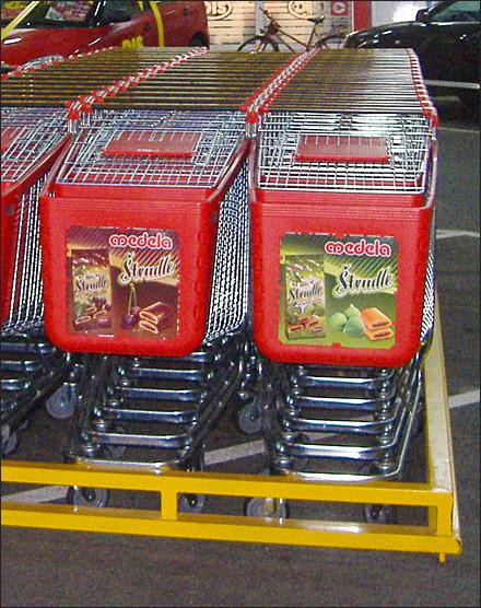 Euro Fixture Shopping Cart Park CloseUp Main