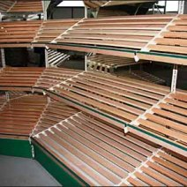 Euro Fixture Wood Slat Gondola 3