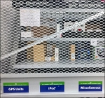 Expanded Metal Secured Backstock Aux