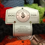 Harry Barker Macrome Dog Toy Closeup