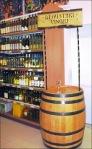In-Store Wine Tasting Barrel Overall