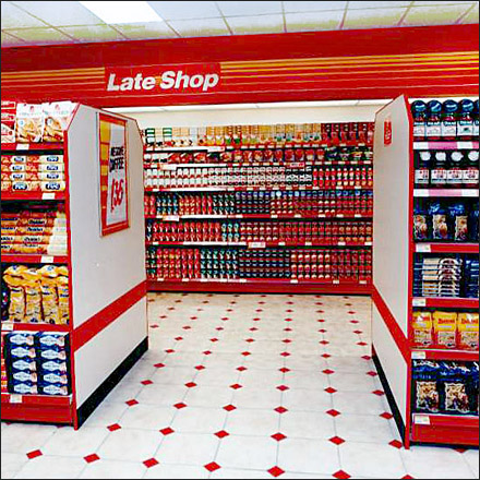 Late Shop Red Night Vision Centered