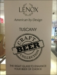 Lenox Craft Beer American by Design Closeup