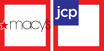 Macys vs JCPenney Logos Courtesy of Wikipedia