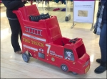 Mall Responder Double Deck Fire Truck Detail Aux