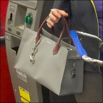 Margarit with purse by Balenciaga 3
