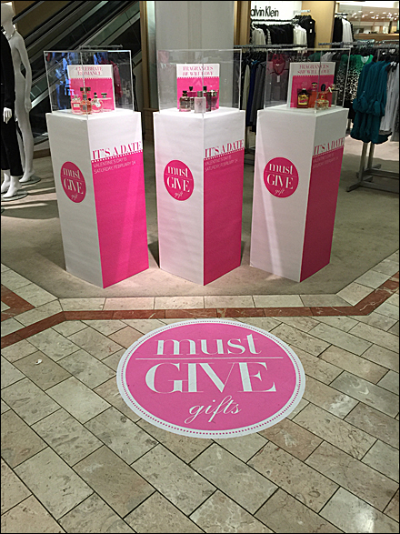 Must Give Gifts Display Floor Graphic