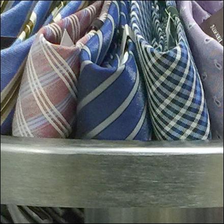 Neckties On Edge CloseUp Main