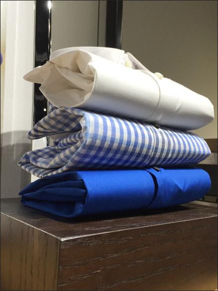 Paper Clipped Shirt Display Main