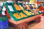 Produce Cart Wagon Wheels 1
