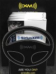 SiriusXM Steering Wheel Die Cut 1