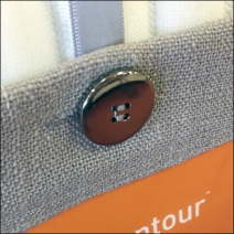 Tempur-Pedic Button-Down Hang Tag 3