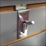 xBox Slatwall Pin-Up Hook Detail