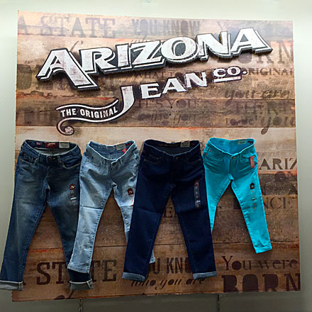Arizona Jean Branded Billboard