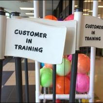 Customer in Training Shopping Cart 2