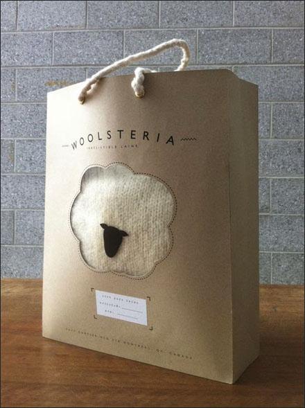 Wool in Woolsteria® Sheep Branded Bag