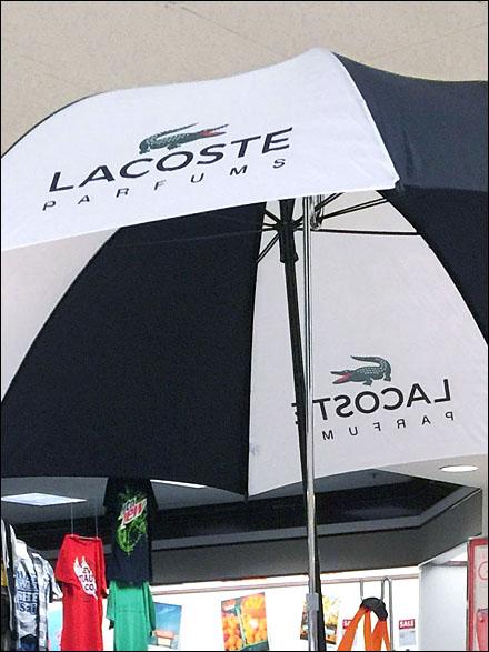Lacoste Rainy Day Parfums Umbrella Main
