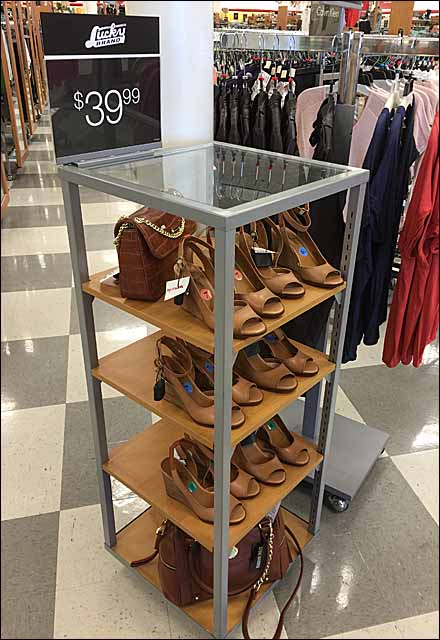 Lucky Brand Shoe Stand Main