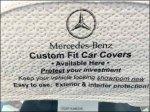 Mercedes Benz Custome Car Cover Miniature Closeup