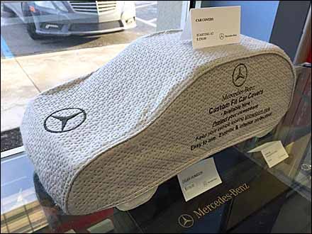 Mercedes Benz Custom Car Cover Miniature In Point-of-Purchase