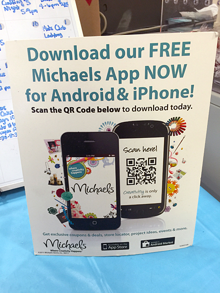 Michael's App QR Code