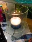 Retail Candle Flicker in Video Motion Still
