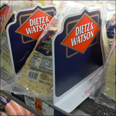 Dietz and Watson Branded Cooler Divider Main