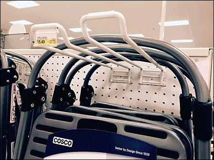 Double Loop Hook Step Ladder Hang