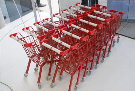 EuroFixture Miniature Kotal® Shopping Carts