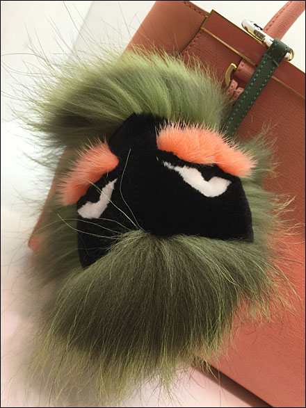 Fendi Face Muppet CloseUp