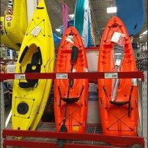 Kayak Pallet Rack Display Vertical 1