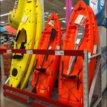 Kayak Pallet Rack Display Vertical 2
