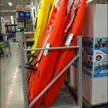 Kayak Pallet Rack Display Vertical 3