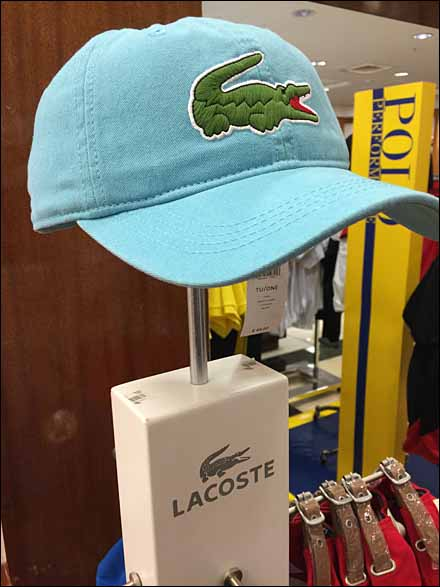 Lacoste Branded Hat Stand Main