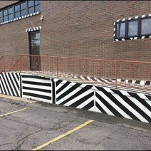 Maine Source Dazzle Paint Handicap Ramp 2