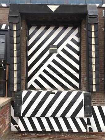 Maine Source Dazzle Paint Loading Dock Door Main