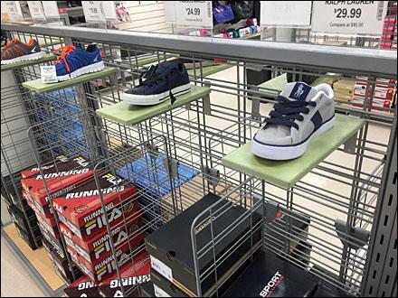 Marshall's Slatwall Shoe Ledges Main