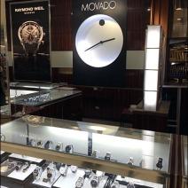 Movado Departmental Branding 2