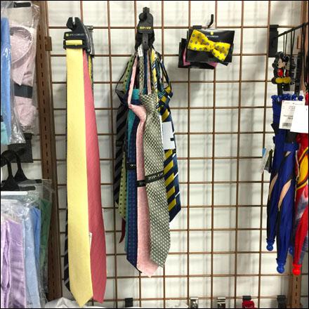 Necktie Merchandisie Selection on Grid 1