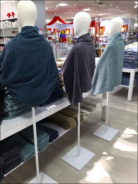 Bath Towel Drapes Behind-the-Scenes