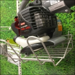 Craftsman Gas Leaf Blower Pegboard Mounts Detail