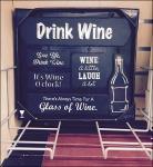 Drink Wine in Frame Holder Aux