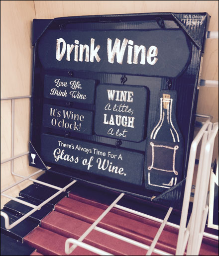Drink Wine in Frame Holder Main