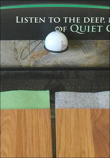 Golf Ball Sounding Board Freestanding Main