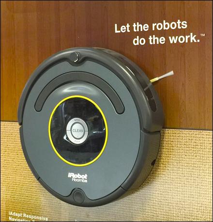 iRobot Roomba Floor Surface POP Main