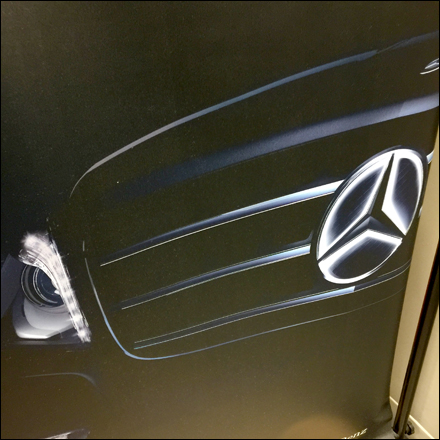 Mercedes Discover The Star Detail