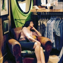 Relaxing at Ralph Lauren 2
