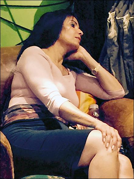 Relaxing at Ralph Lauren Main