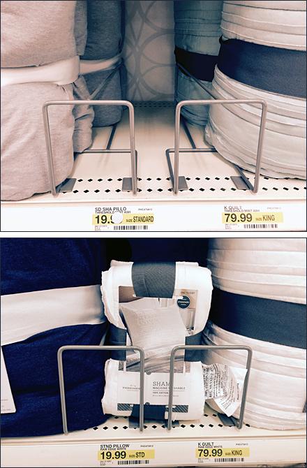 Shelf Edge Sham Cross Sell Composite